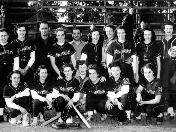 1950 Prince Albert Blue Jays Softball – Team