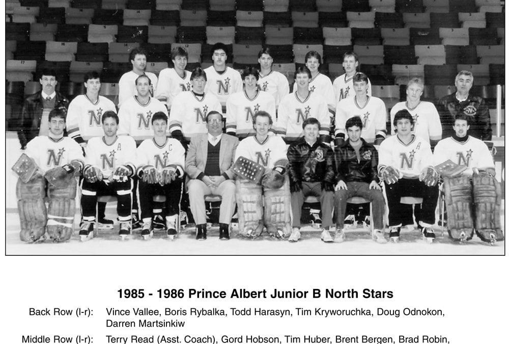 1985 & 1986 Prince Albert Junior B North Stars – Team