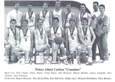 1988 Carlton Boys Highschool Basketball – Team