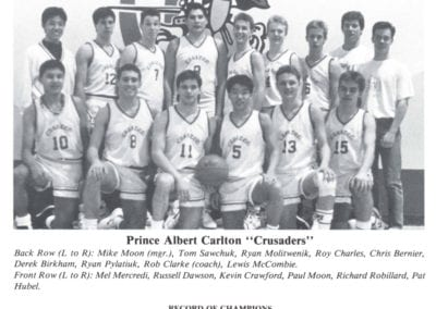 1990 Carlton Boys Highschool Basketball – Team