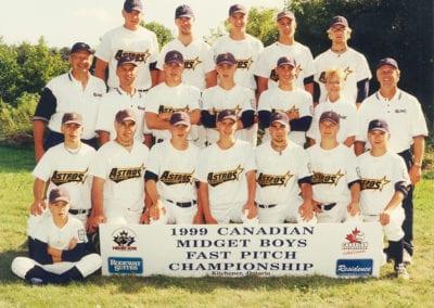 1999 – 2001 Prince Albert AALLCAN Astros – Team