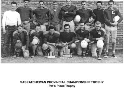 1958 PACI 6-Man Football – Team