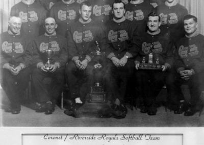 1959-1961 Coronet/Riverside Royals – Team