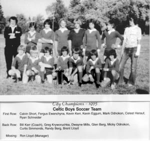 1973 – 1980 Prince Albert Crescent Celtic Boys – Team