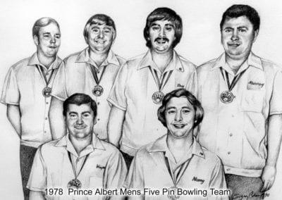 1978 Men's Five-Pin Bowling – Team