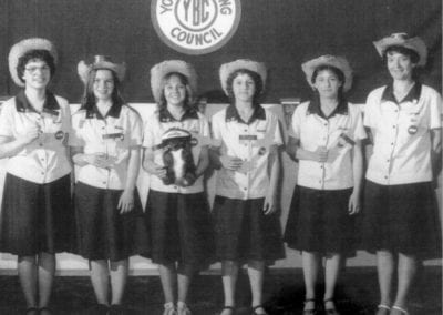 1980 YBC Jr. Girls & 1984 YBC Sr. Girls Bowling – Team