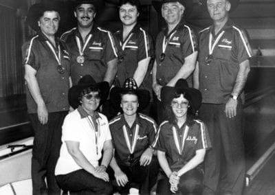 1983 Prince Albert Mixed Five-Pin Bowling – Team