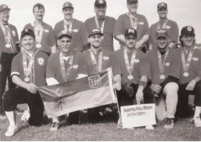 1989, 1991, 1993, 1997 Prince Albert Kings Fastball – Team